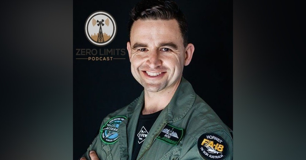 """Ep. 29 Christian """"Boo"""" Boucousis former RAAF Fighter Pilot and Professional Speaker"""