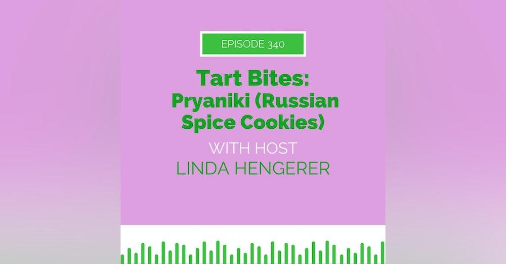 Russia Week - Tart Bites: Pryaniki (Russian Spice Cookies)