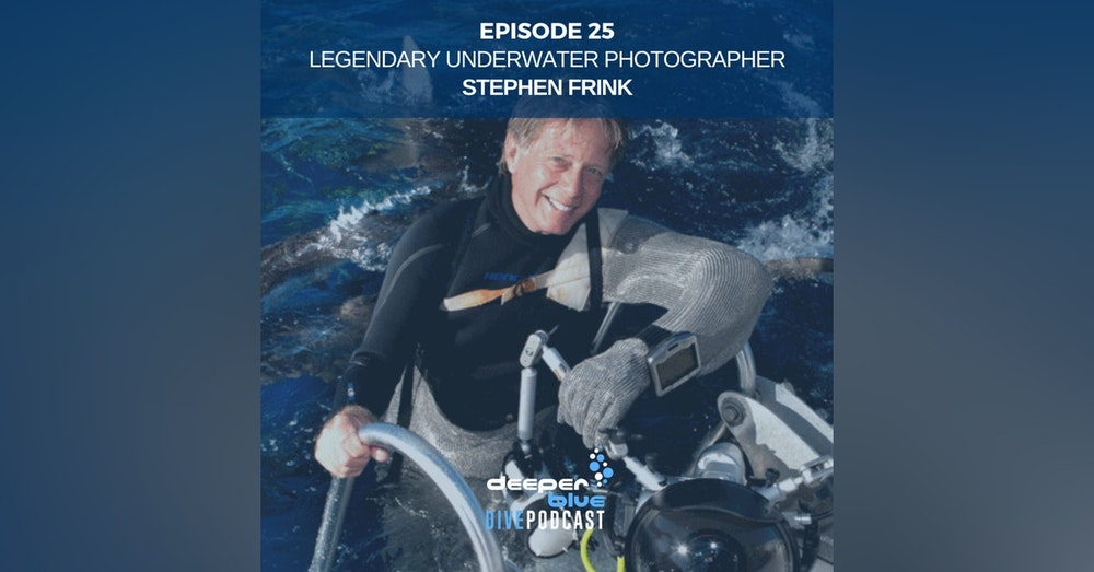Legendary Underwater Photographer Stephen Frink On How Dolphins May Have Saved His Life, and New Jellyfish Discovered!