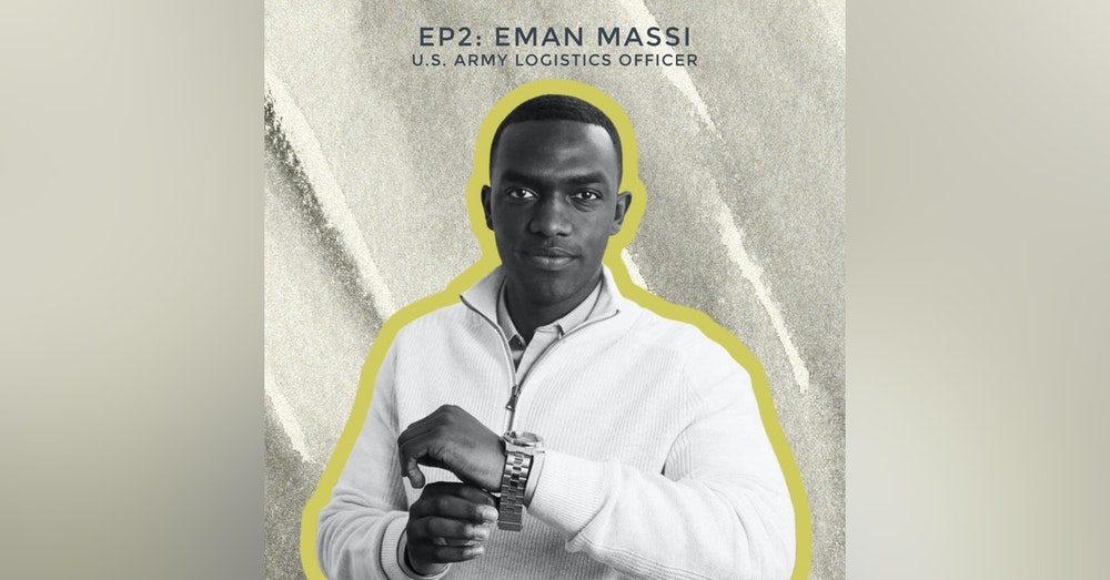 Becoming Black James Bond with U.S. Army Officer Eman Massi