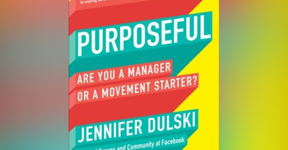"""#320 """"Bringing your vision to Life."""" from the book """"Purposeful"""