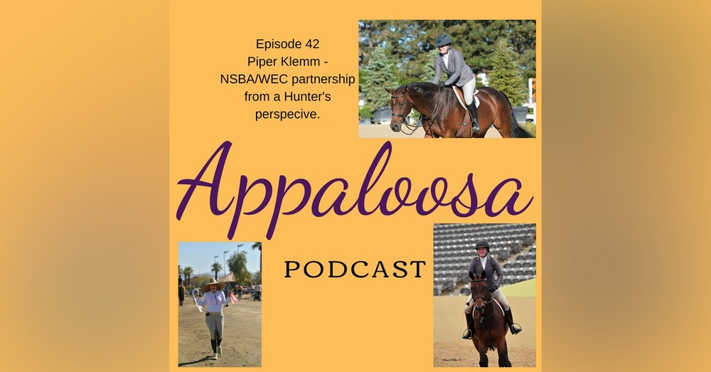 Piper Klemm - The NSBA/WEC partnership from a Hunter's perspective: EP42