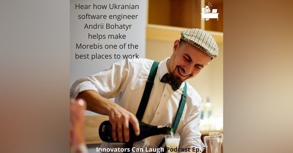Ukranian Andrii Bohatyr is redefining what it means to be a Tech Geek