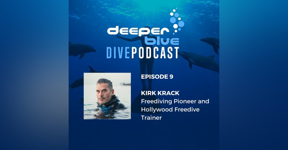 Freediving Legend Kirk Krack on How His Life Changed Forever, & Shark Researcher Dr Frida Lara on How to Sneak Up on sharks