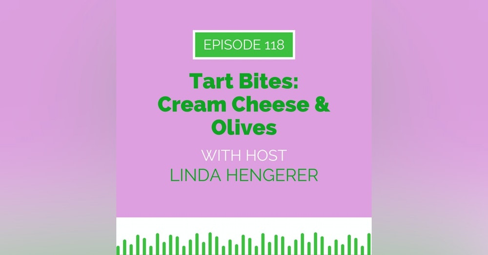Tart Bites: Cream Cheese & Olives