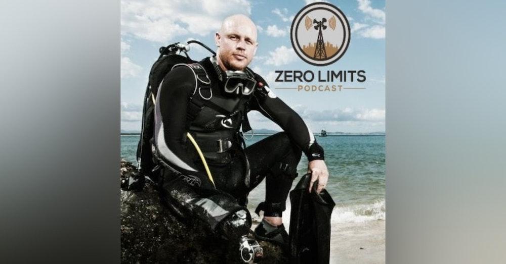 Ep. 6 - Paul De Gelder Former Paratrooper - Navy Clearance Diver and Shark Attack Survivor