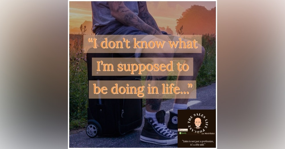 """603. """"I don't know what I'm supposed to be doing in my life..."""" The 5 E's to find your track"""