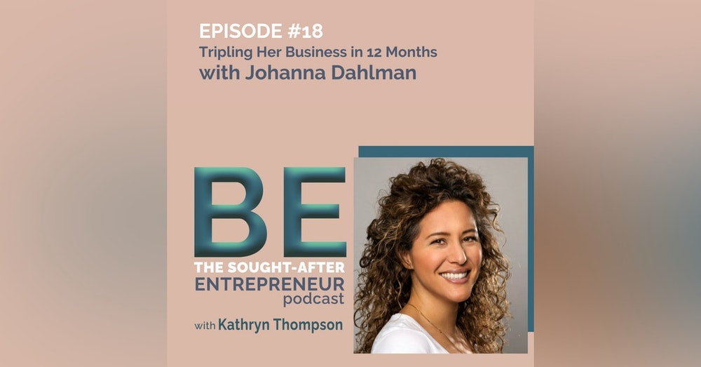 From an Alopecia Diagnosis to Tripling Her Online Business in 12 Months with Johanna Dahlman