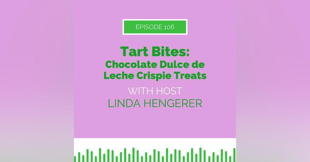 Tart Bites: Chocolate Dulce de Leche Crispie Treats