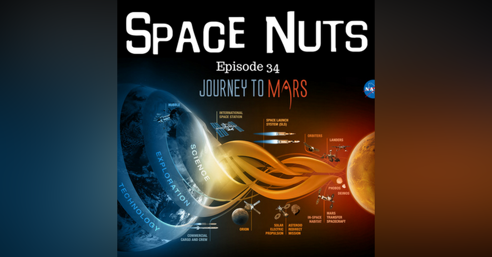 35: Journey To Mars...But - Space Nuts with Dr.Fred Watson & Andrew Dunkley Episode 34