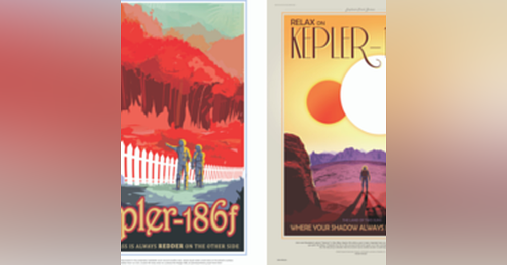 6: Space Nuts Ep.5 - Black holes, X-Rays & Radio Waves ...plus NASA Space Travel Posters