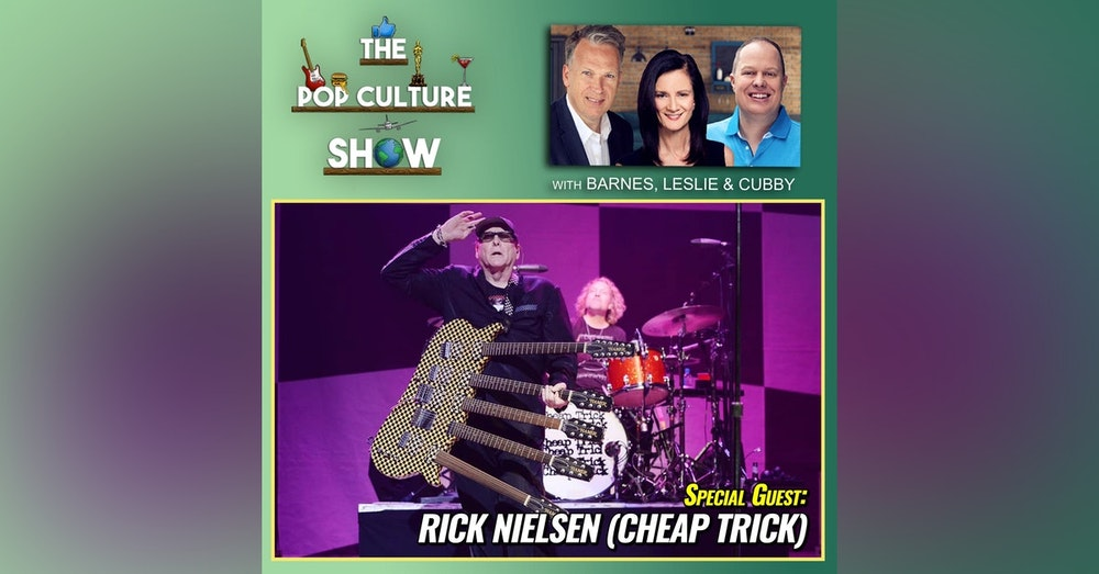 Rick Nielsen from Cheap Trick Exclusive Interview - New Album + Working with John Lennon and more