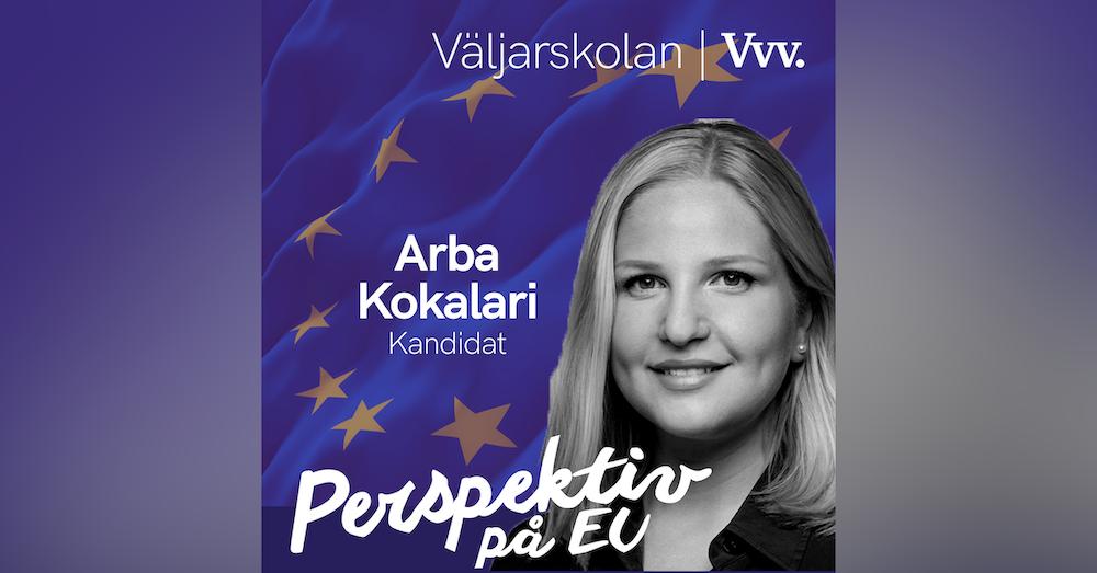 15. [Valspecial] Om poängen med EU och fredsidén som blev en union - med kandidaten Arba Kokalari