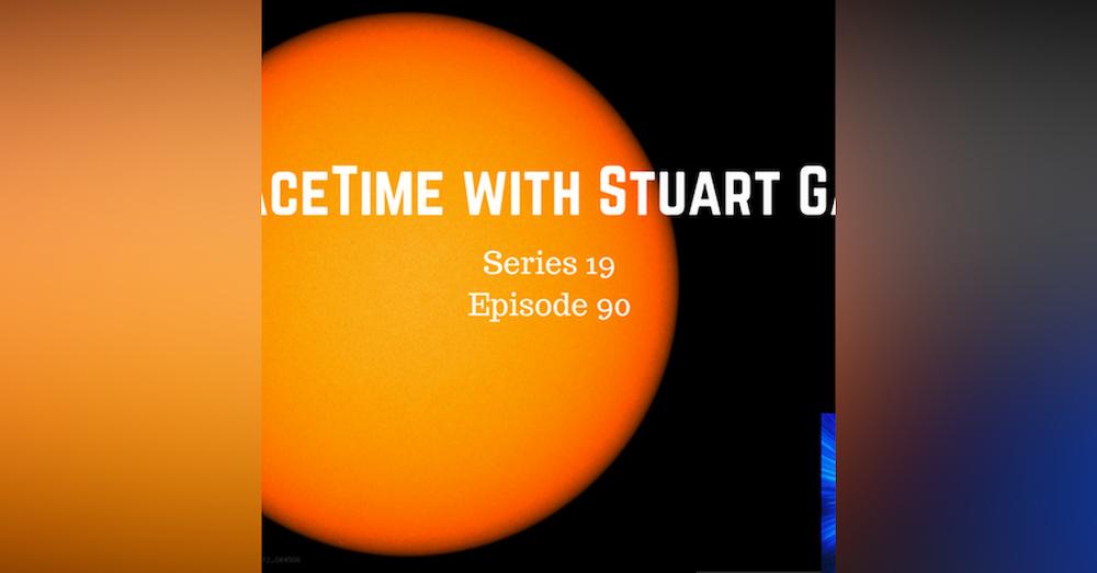 90: Mystery of the Sun's strange spin....solved!