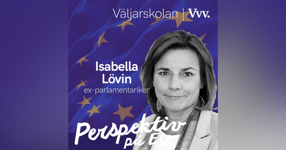 19. [Valspecial] Om hur enskilda parlamentariker kan förändra EUs politik - med Isabella Lövin