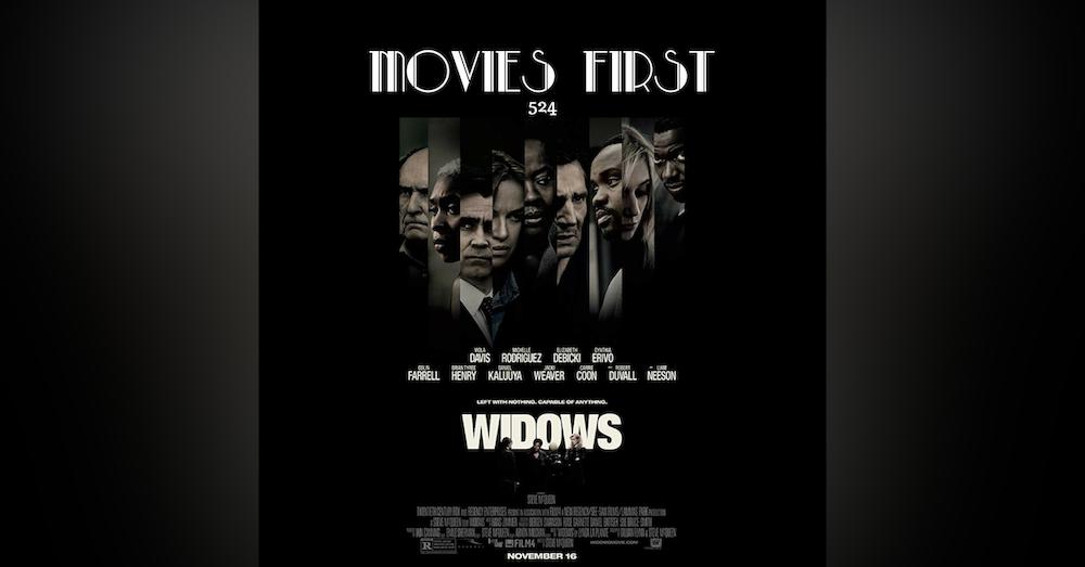 524: Widows (Crime, Drama, Romance) (review)