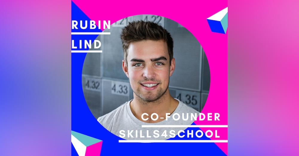 Rubin Lind, Skills4School   Gründernachwuchs