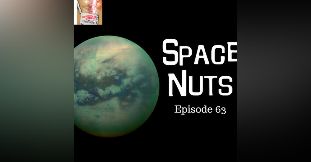 64: Alien life, Universal Recession & Watery Moon - Space Nuts with Dr Fred Watson & Andrew Dunkley Episode 63