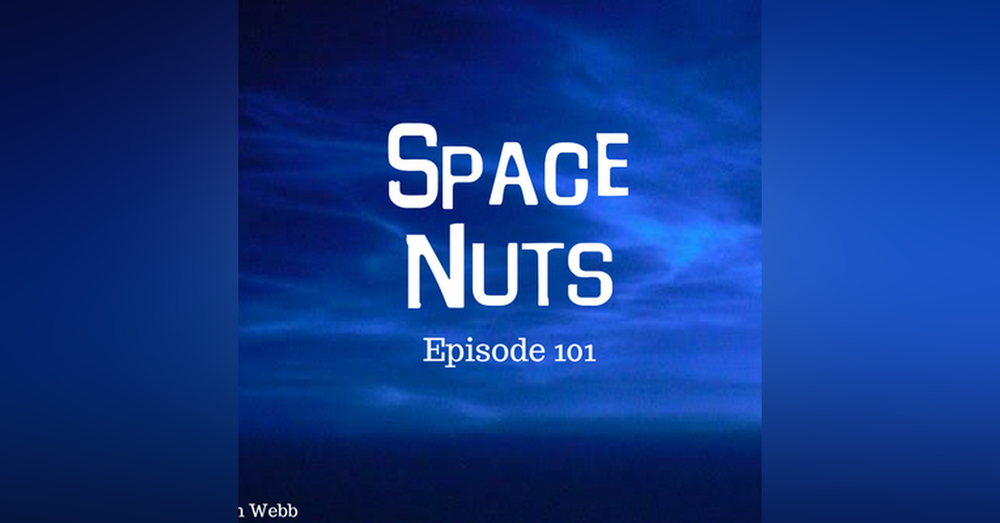 101: Merging Galaxies, A Supernova Event Survivor and Noctilucent Clouds - Space Nuts with Dr Fred Watson & Andrew Dunkley