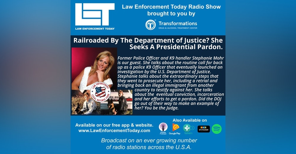 S4E20: Railroaded By The Department of Justice? She Got A Presidential Pardon After Serving 10 Years..