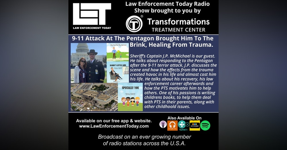 S4E26: 9-11 Attack At The Pentagon Brought Him To The  Brink, Healing From Trauma.