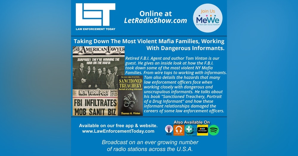 S4E91: Taking Down The Most Violent Mafia Families, Working With Dangerous Informants.