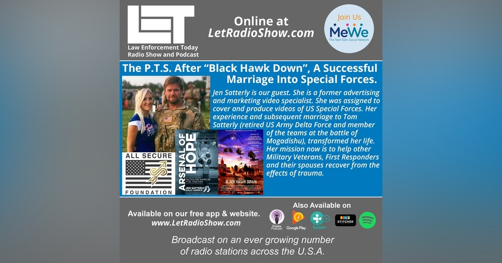 """S5E14: The P.T.S. After """"Black Hawk Down"""", A Successful  Marriage Into Special Forces."""