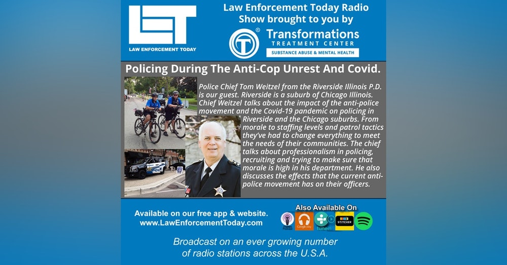 S4E81: Policing During The Anti-Cop Unrest And Covid-19 Pandemic.