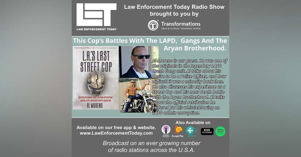 S4E41: This Cop's Battles With The LAPD, Gangs And The  Aryan Brotherhood.