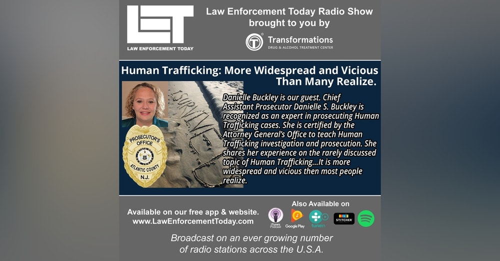 S4E40: Human Trafficking: More Widespread and Vicious Than Many Realize.