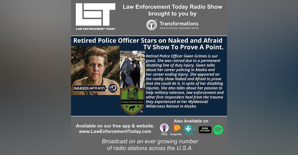 S4E36: Retired Police Officer Stars on Naked and Afraid TV Show To Prove A Point.