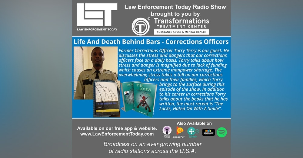 S4E84: Life And Death Behind Bars - Corrections Officers.
