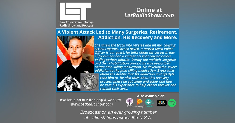 S5E35: A Violent Attack Led to Many Surgeries, Retirement,  Addiction, His Recovery and More.