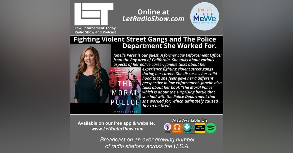 S5E10: Fighting Violent Street Gangs and The Police Department She Worked For.