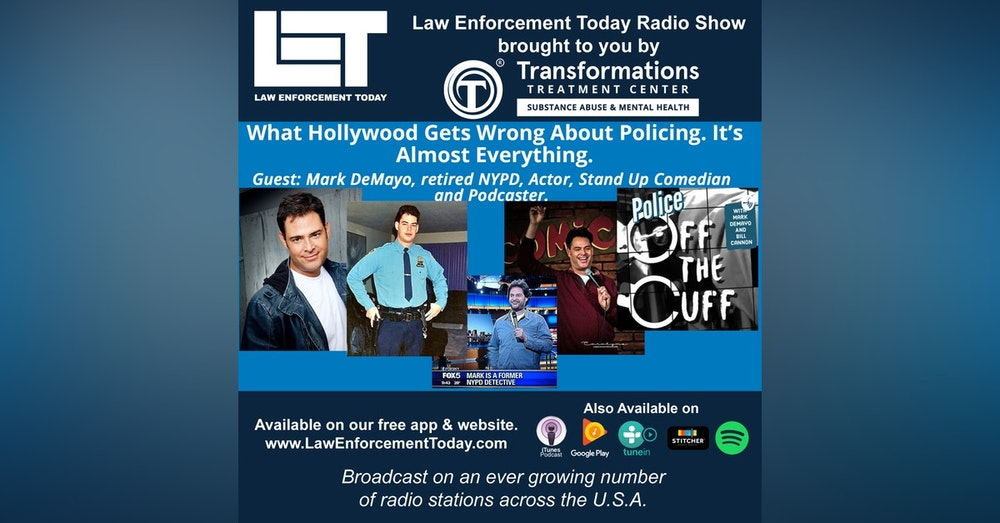 S4E71: What Hollywood Gets Wrong About Policing. It's Almost Everything.