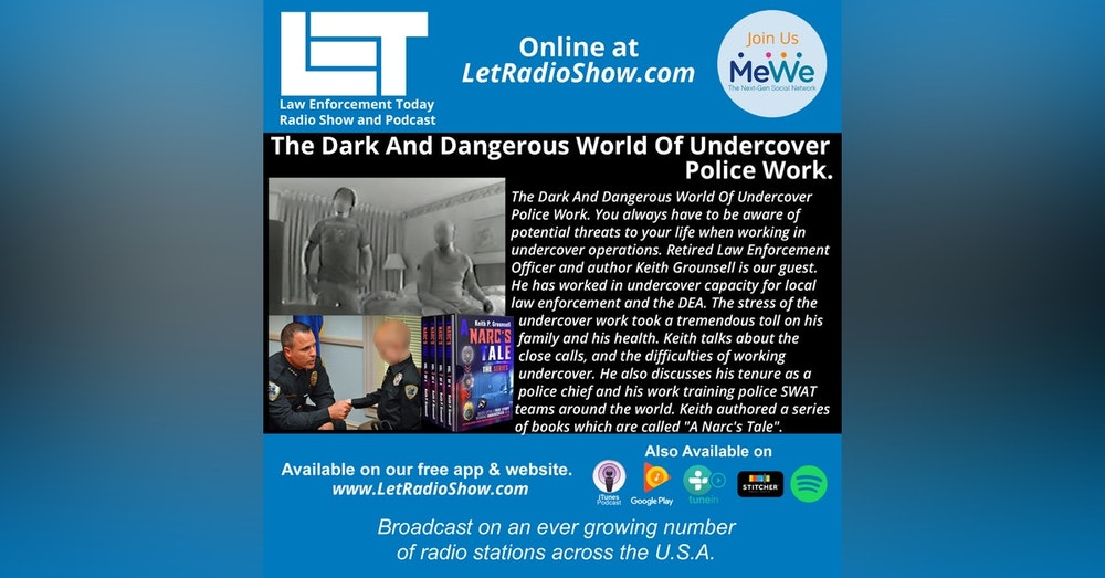 S5E20: The Dark And Dangerous World Of Undercover Police Work.