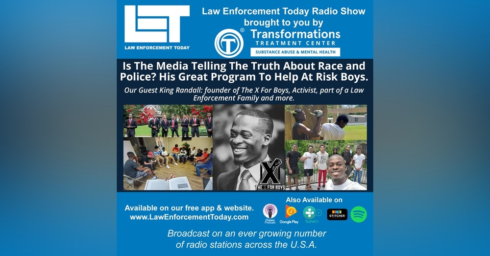 S4E72: Is The Media Telling The Truth About Race and Police? His Great Program To Help At Risk Boys.
