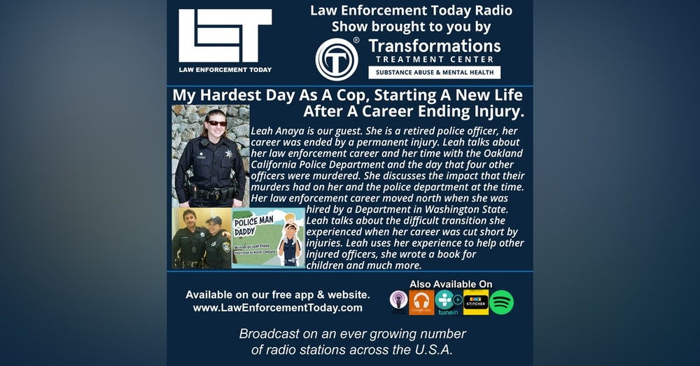 S4E70: My Hardest Day As A Cop, Starting A New Life After A Career Ending Injury.