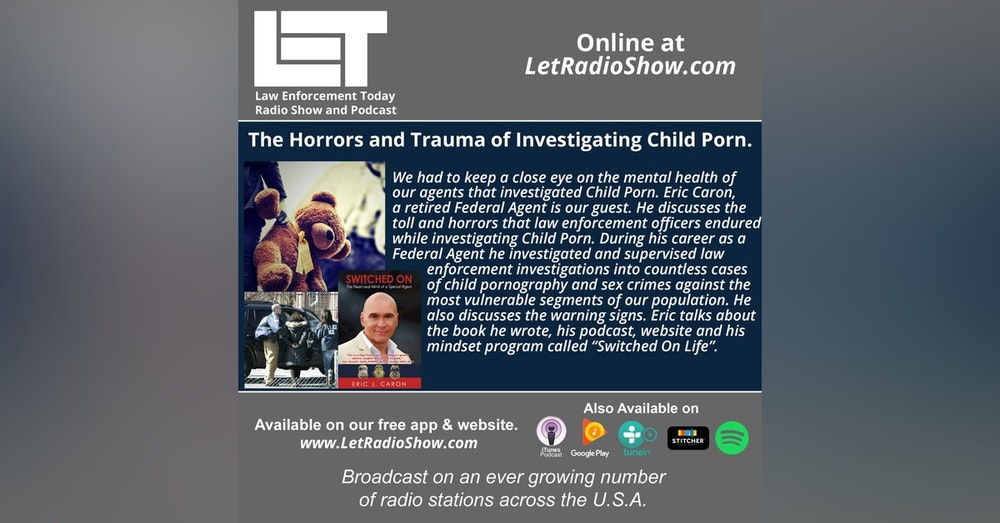 S5E33: The Horrors and Trauma of Investigating Child Porn.