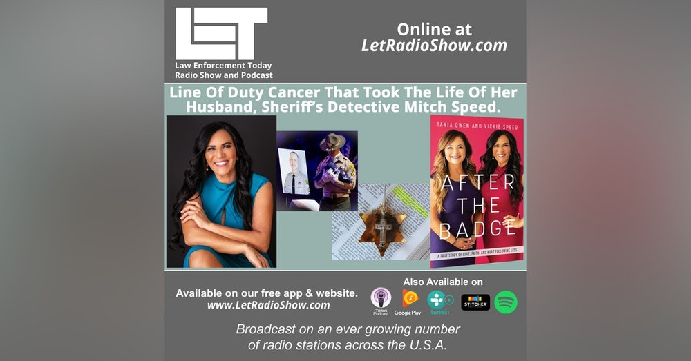 S5E47: Line Of Duty Cancer That Took The Life Of Her Husband, Sheriff's Detective Mitch Speed.