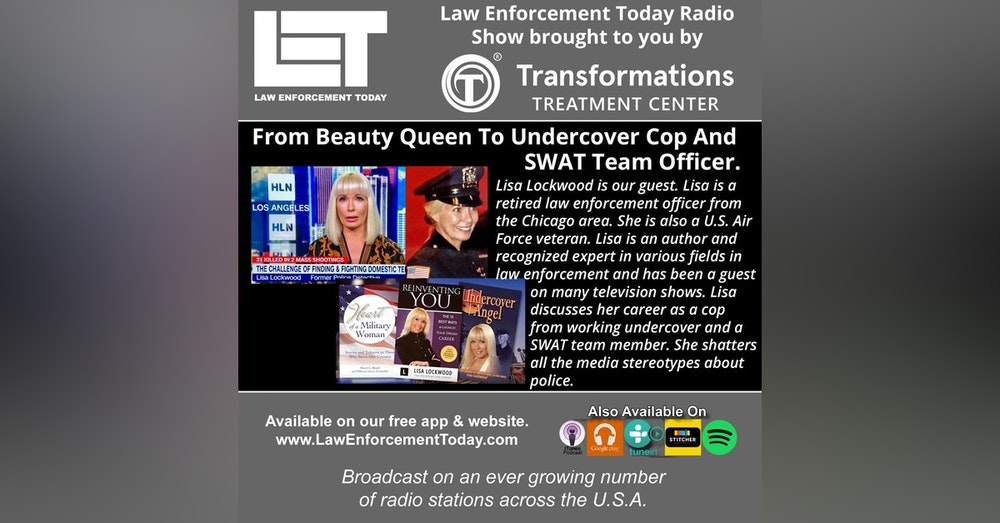 S4E43: From Beauty Queen To Undercover Cop And SWAT Team Officer.