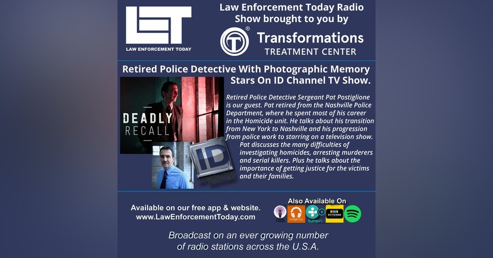 S4E33: Retired Police Detective With Photographic Memory Stars On ID Channel TV Show.