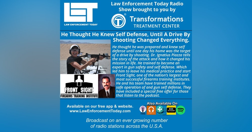 S4E58: He Thought He Knew Self Defense, Until A Drive By Shooting Changed Everything.