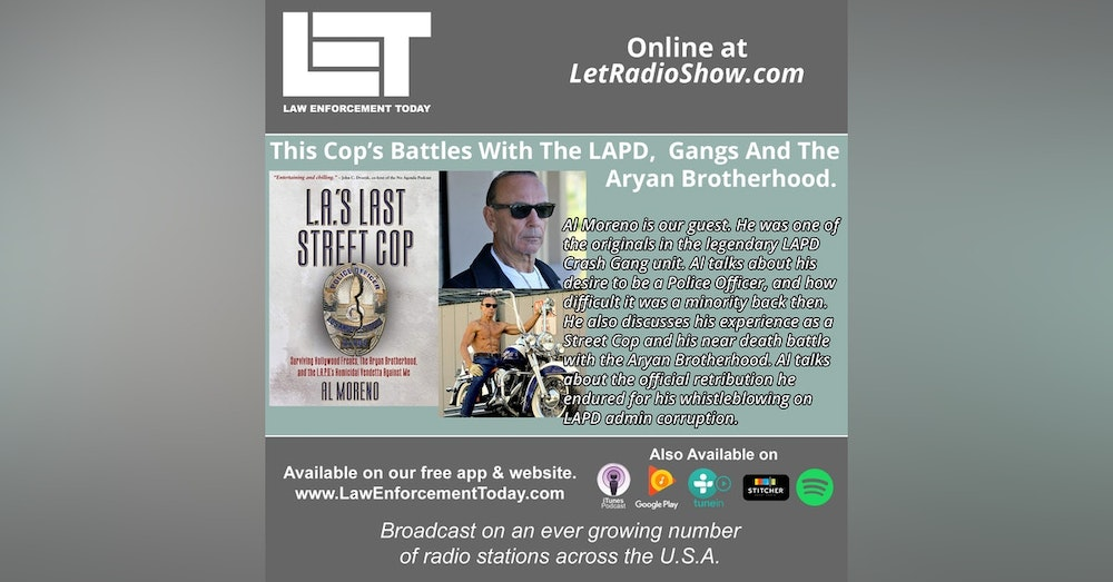 S5E66: This Cop's Battles with Gangs, the  Aryan Brotherhood and the L.A.P.D.