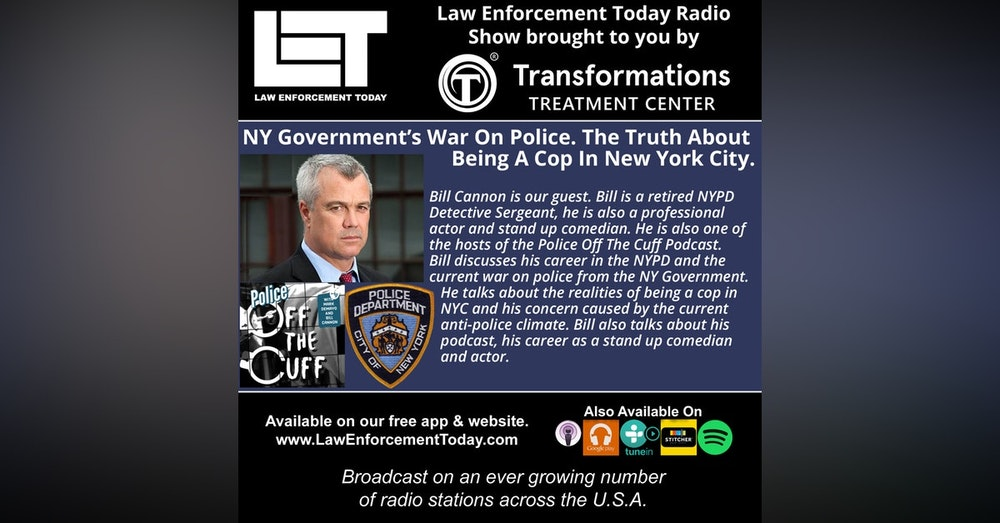 S4E51: NY Government's War On Police. The Truth About  Being A Cop In New York City.