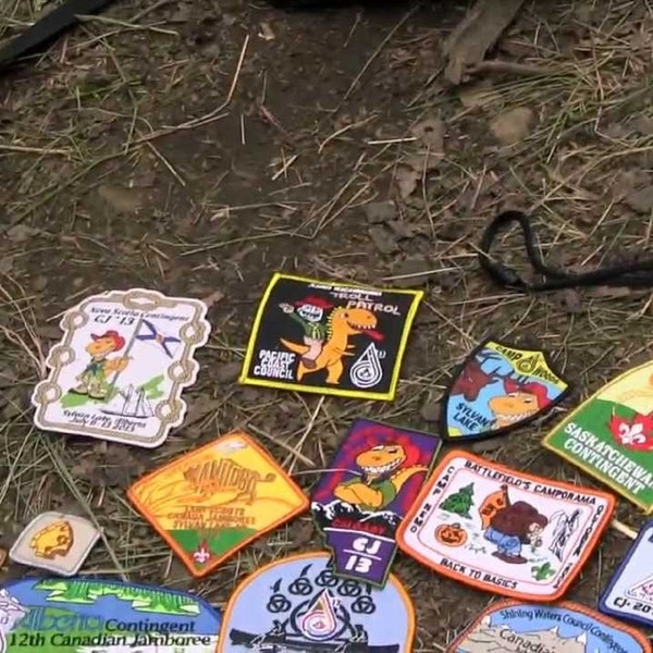 Episode 9 - Badge Trading at Scouting Events