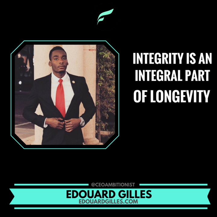 Integrity Is An Integral Part Of Longevity | Morning Motivation