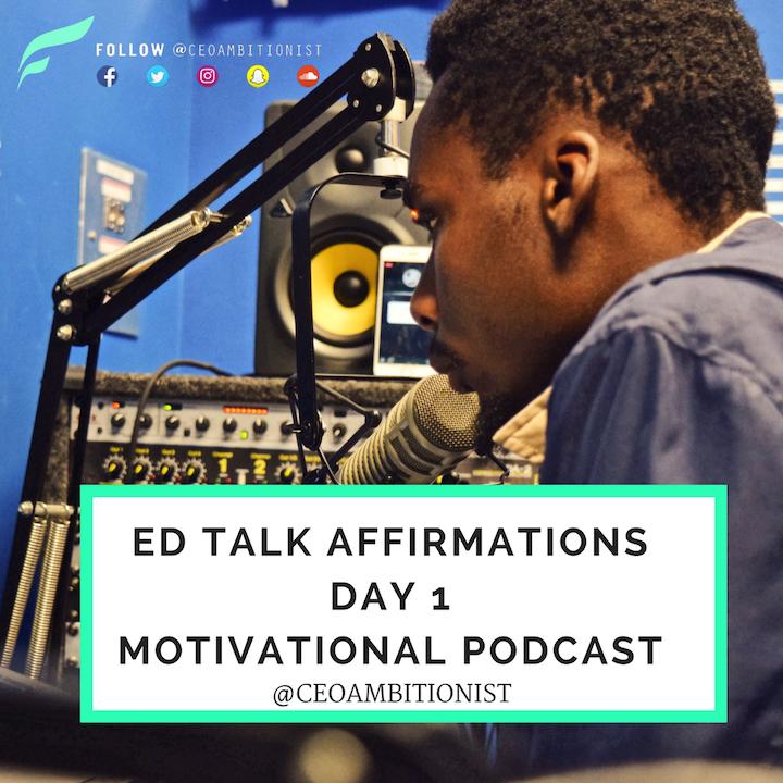 Day 1 Affirmation | Motivation Affirmations