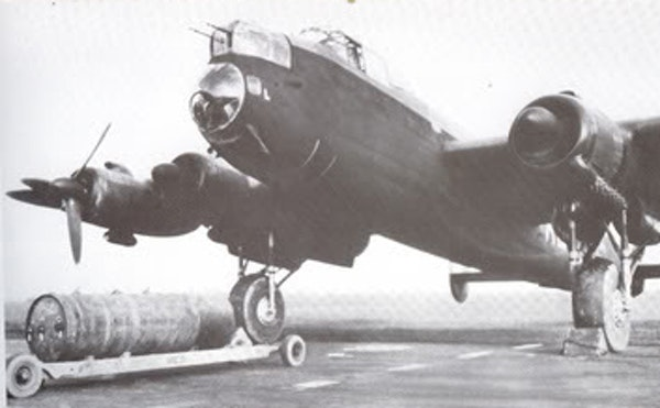 14 The Last Flight of Lancaster Lily Mars, WW2 Image
