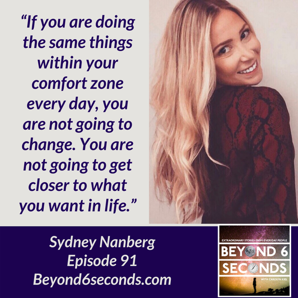 Episode 91: Designing a Life with Marketing, Mental Health & Mindset -- with Sydney Nanberg Image
